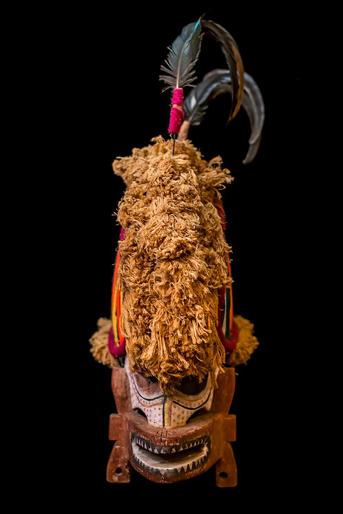 MALAGAN MASK - NEW IRELAND PROVINCE - PAPUA NEW GUINEA