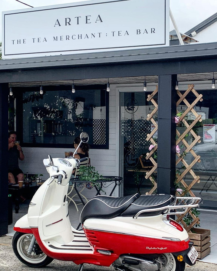 Shop Front with Scooter