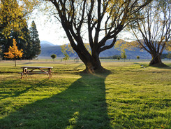 The View from The Fishermans Hut - Lake Heron Station