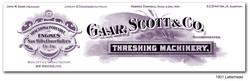 Gaar Scott Steam Engines