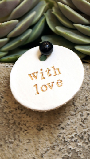 Handmade Clay Labels