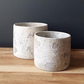 large & medium rustic stone
