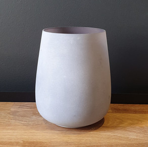 grey frosted glass