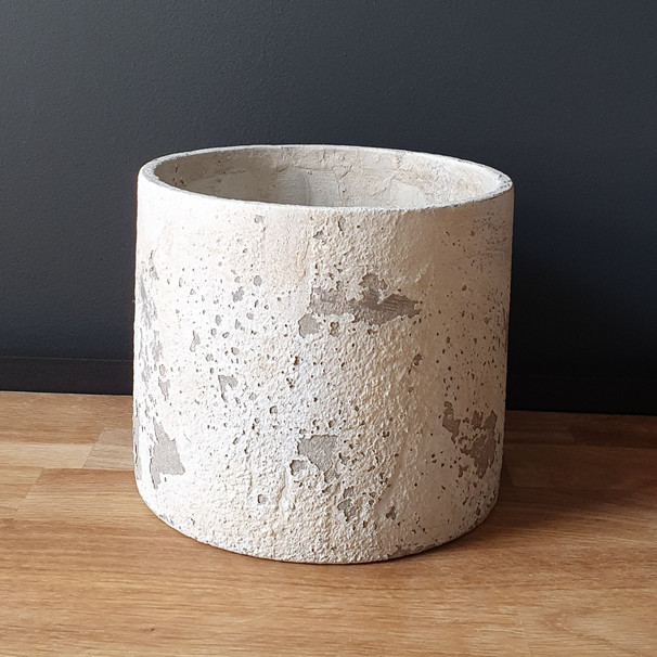 large rustic light stone