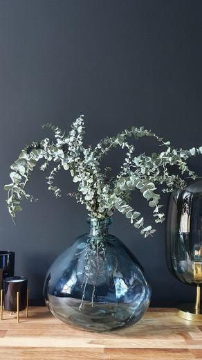 Blue Glass Vase £55 SOLD
