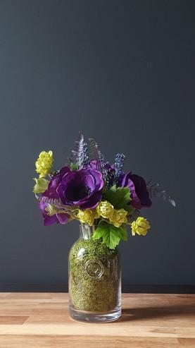 """""""Faux Purple Poppies"""""""