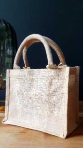 Little Hessian Bag £2.50