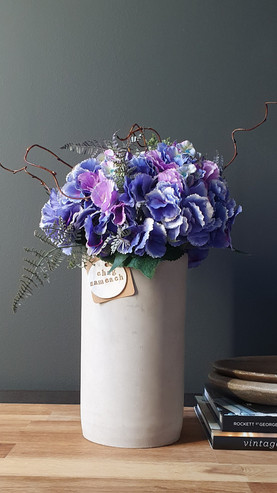 """""""The Faux Hydrangea Collection"""""""