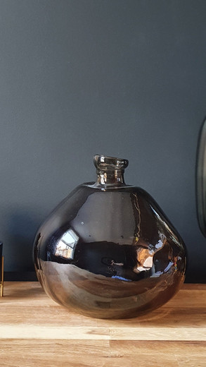Brown Glass Vase £55 SOLD