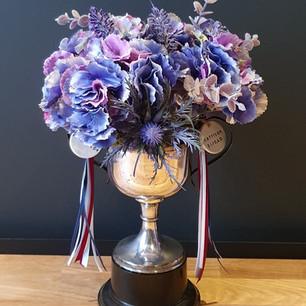 vintage faux trophy 50