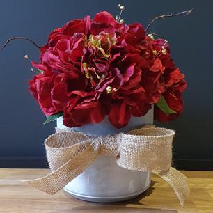 red hydrangeas 65
