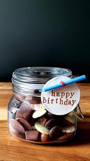 Small Chocolate Jar  £12-15