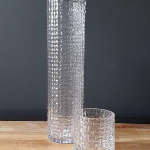 tall & short glass