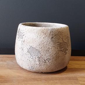 medium round rustic stone