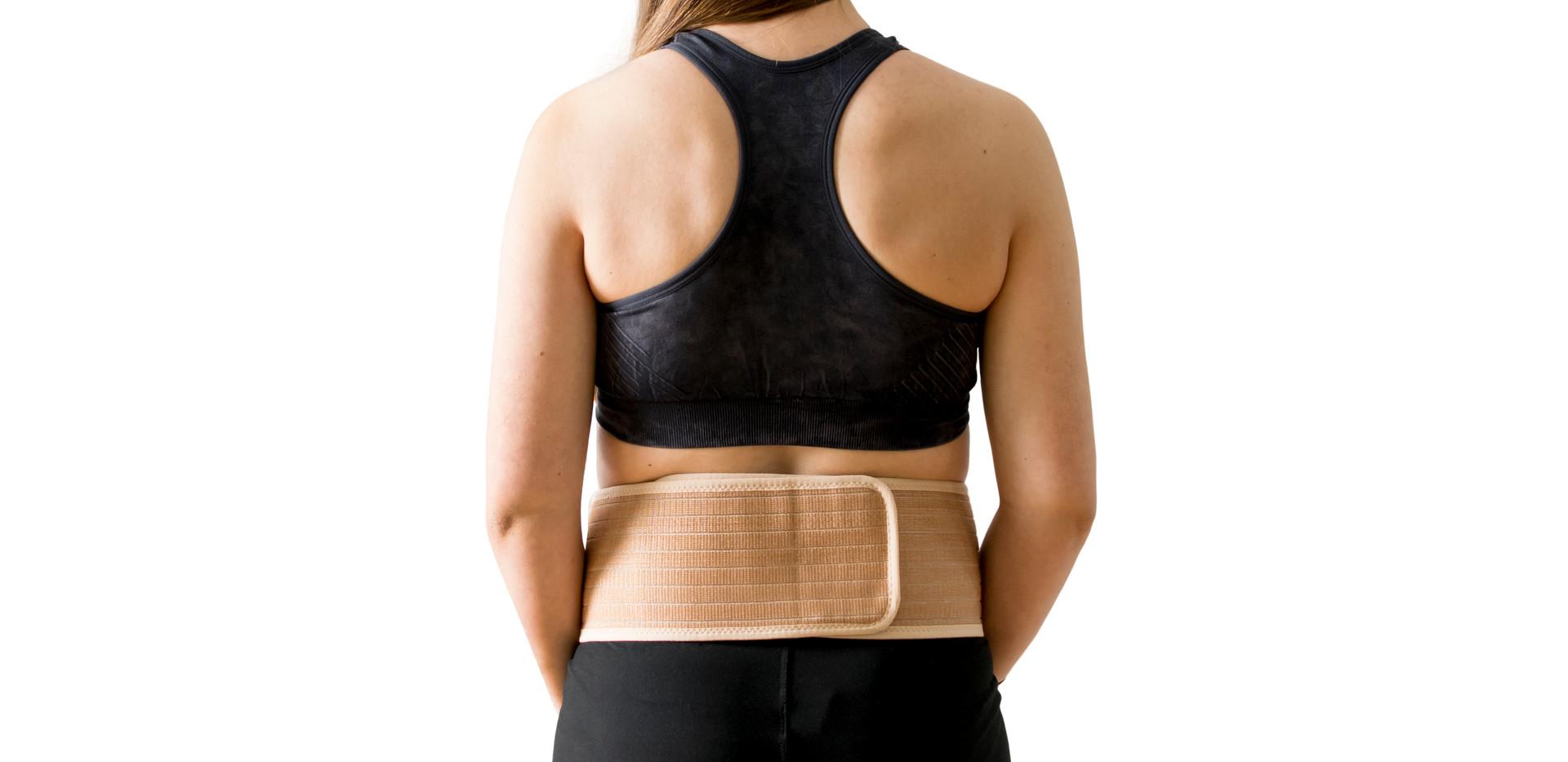 Easily adjustable Velcro strap