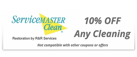 ServiceMaster by RR Services Cleaning Special