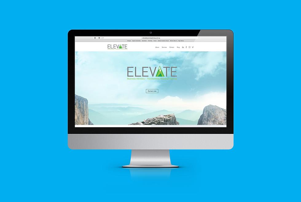 Elevate Business Advisory Website