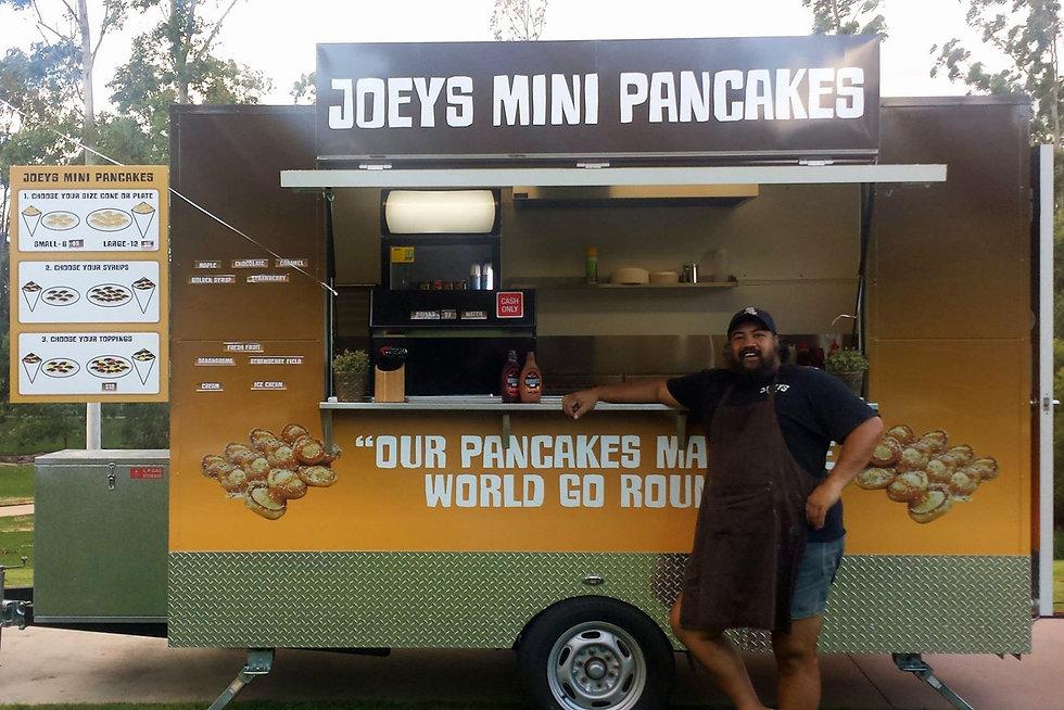 Colourblind Design Joeys Pancake truck