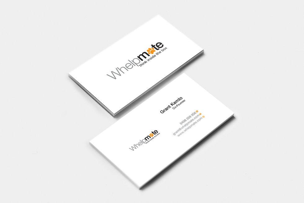 Whelpmate business card