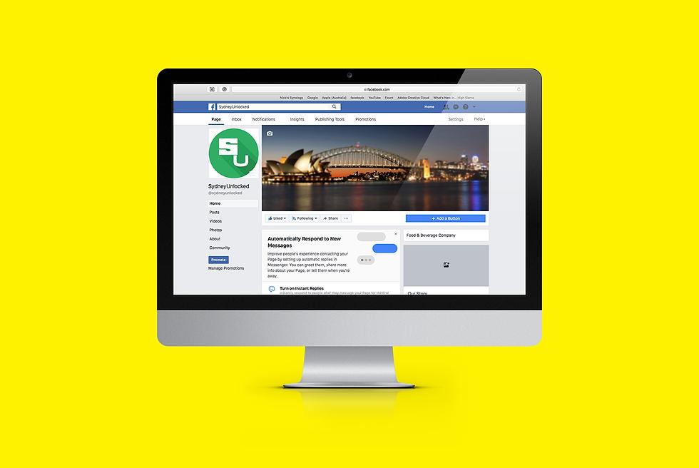 Sydney Unlocked Facebook page