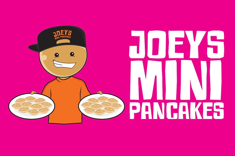 Colourblind Design Joey's Pancake truck mockup pink