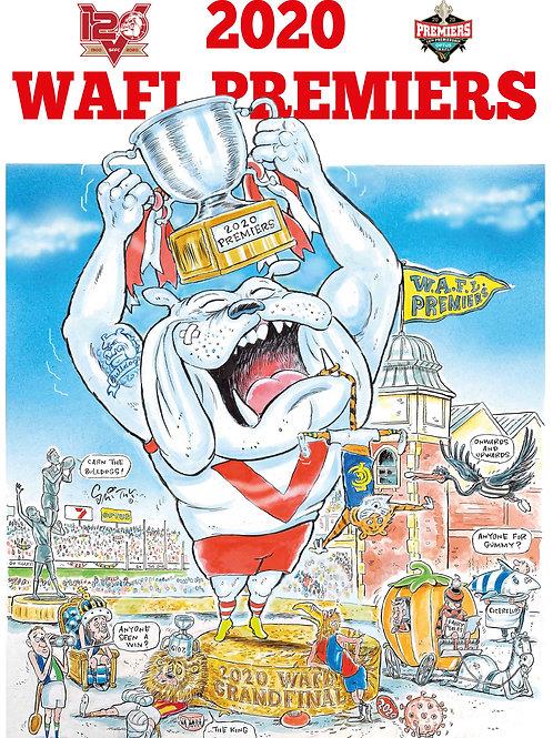 2020 WAFL Premiership print