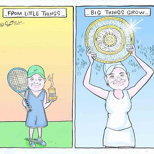Ash Barty wins Wimbledon 2021