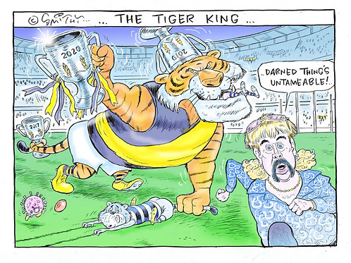 The Tiger King ...