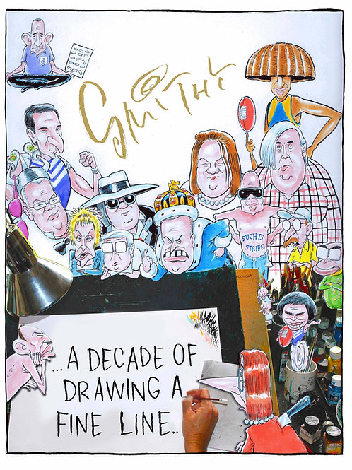 Smithy, A Decade of Drawing a Fine Line ... book