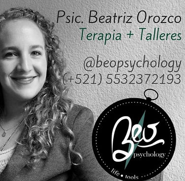 Beatriz Orozco BeoPsychology información de psicoterapeuta