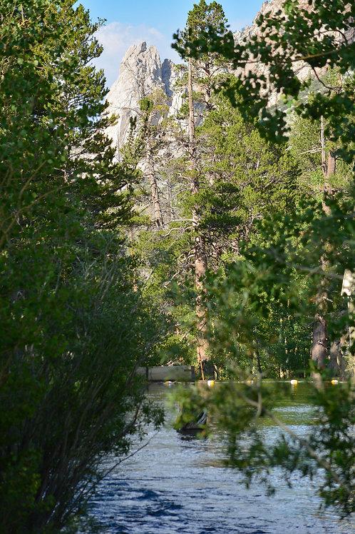 Lake Sabrina Creek