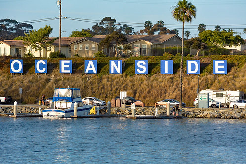 Oceanside Sign