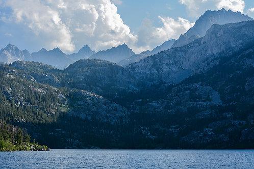 "Lake Sabrina California -Titled: ""Breathless Mountains"""