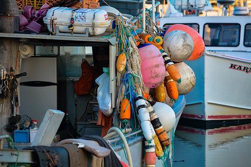 Oceanside Harbor Fishing Boat