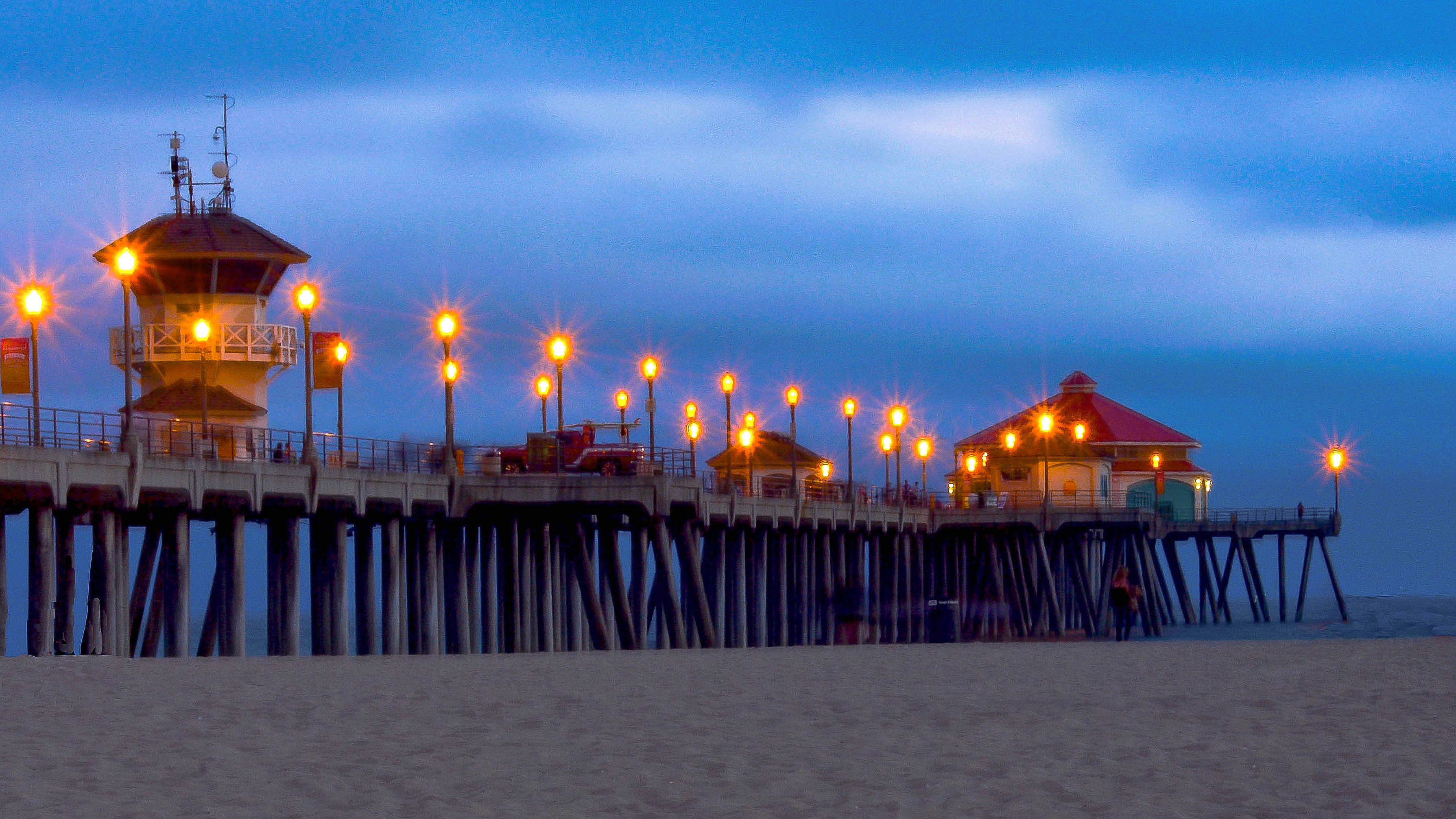 Huntington Beach Pier Lights