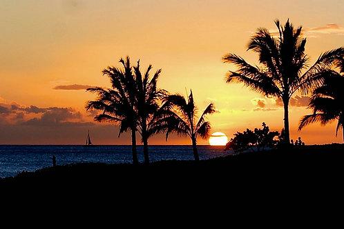 Ko Olina Beautiful Sunset