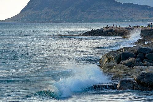 Ko Olina Wave Oahu Hawaii