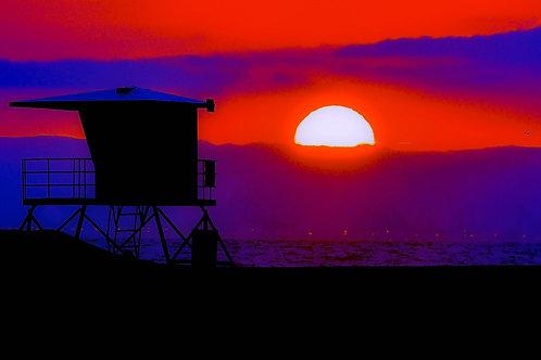 "Huntington Beach CA - Titled ""End of Summer"""