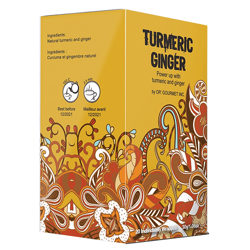 Tumeric Ginger Tea - Earth Teaze