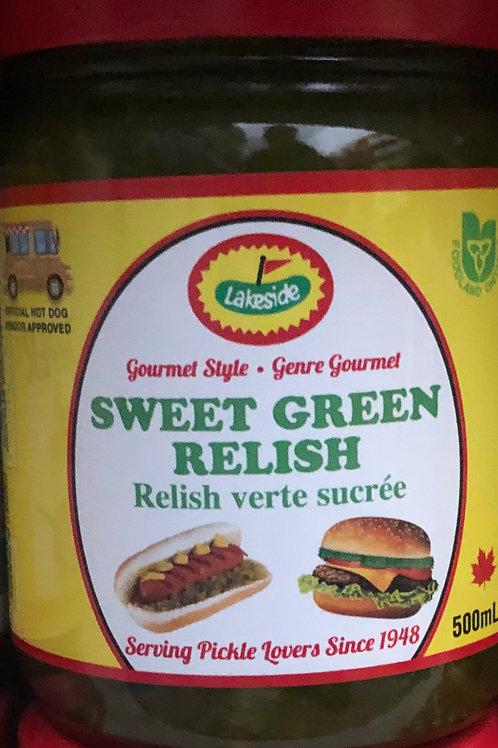 Lakeside Sweet Green Relish