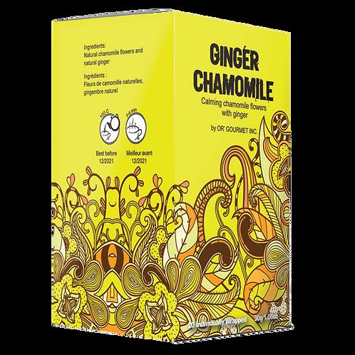 Ginger Chamomile Tea - Earth Teaze