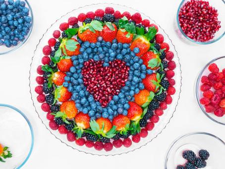 Valentines Fruit Tray