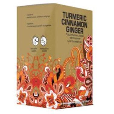 Turmeric Cinnamon Ginger Tea - Earth Teaze