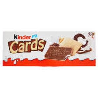 Italian Chocolate Kinder Cards