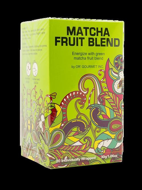 Matcha Fruit Blend Tea - Earth Teaze