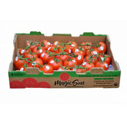 "Boxes of ""On the Vine"" Tomatoes"