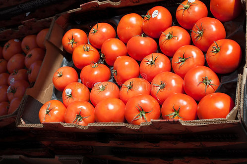 Flats of Hot House Tomatoes