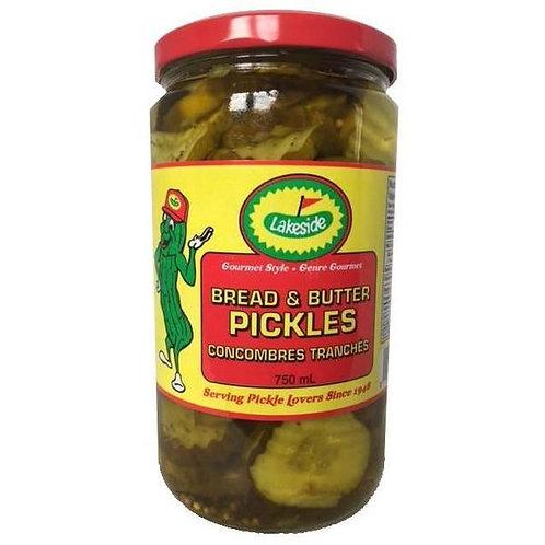 Lakeside Bread & Butter Pickles