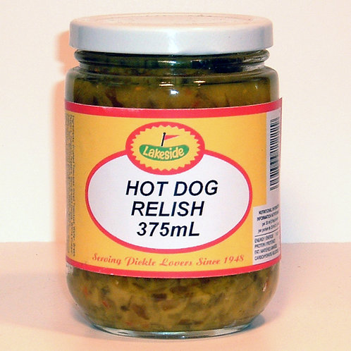 Lakeside Hot Dog Relish
