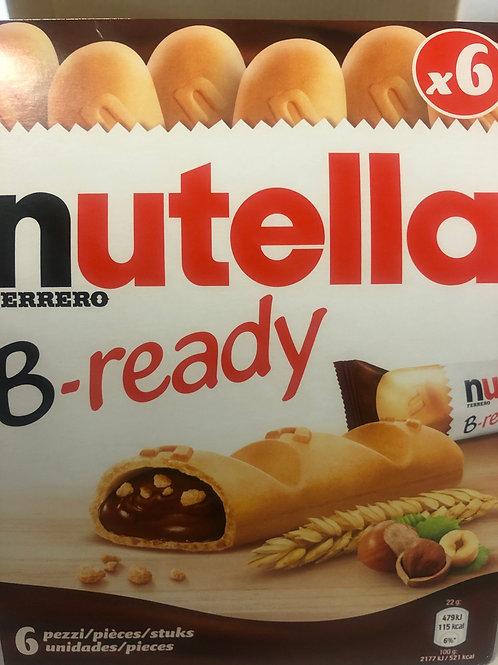 Nutella - B-ready Bars